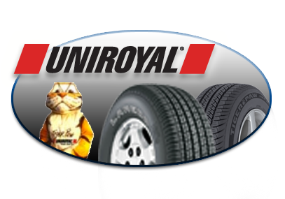 We stock and install uniroyal tires